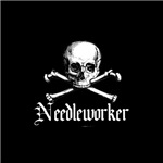 Needleworker - Crafty Pirate Skull & Bones
