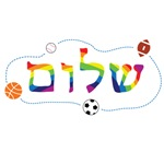 Shalom with Sports Balls