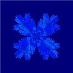 Blue Flower Fractal