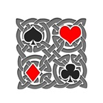 Celtic Knot Playing Card