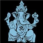Ganesha Blue Fill