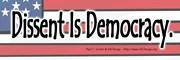 Dissent Is Democracy