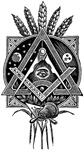 Masonic Square and Compass #64