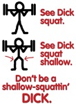 SHALLOW SQUATTING DICK