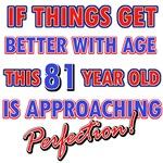 Funny 81st Birthday designs