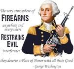 Firearms Restrain Evil