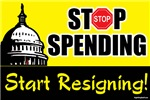Stop Spending Start Resigning