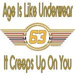 Funny 63rd Birthday