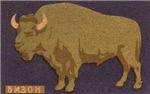 Buffalo Matchbox Label