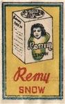 Remy Matchbox Label