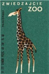 Giraffe II Matchbox Label