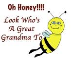 Honey Great Grandma To Bee