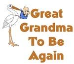 Stork Great Grandma To Be Again