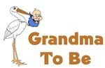 Stork Grandma To Be
