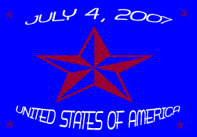 HOLIDAYS/OCCASIONS/JULY 4,2007