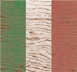 Wood Grain Italian Flag