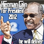 Herman Cain 2012 Election President