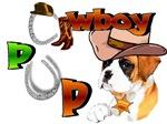 Boxer Cowboy Pup