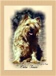 Cairn Terrier Watercolor