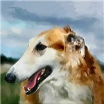 Borzoi Dog Breed Gifts and Merchandise