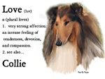 Love Definition...Collie Gifts