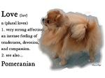Pomeranian Gifts Love Is
