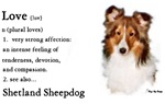 Sheltie / Shetland Sheepdog Love Gifts