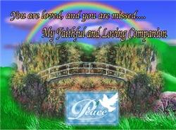 Rainbow Bridge (In Memory Of)