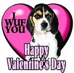 Beagle Lovers  Valentines Day