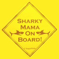 Sharky Mama On Board