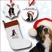 Entlebucher Mountain Dog Christmas