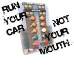 Run Car Not Mouth Design