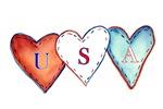 USA Hearts