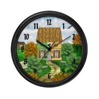 Irish Village Series© Clocks
