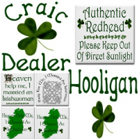 New Designs!! Irish Humour & Wit