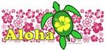 Aloha Hawaii Turtle