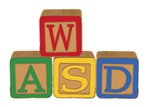 WASD Blocks
