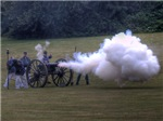 Civil War Cannon Fire