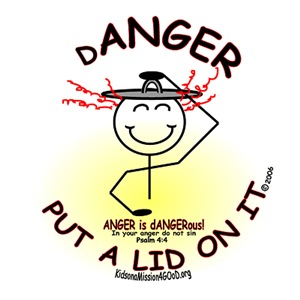 ANGER...Put a Lid on It!