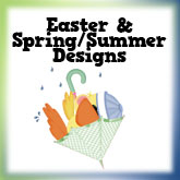 Cute Easter, Spring & Summer Designs
