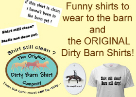 Funny Barn and Horse Sayings Shirts
