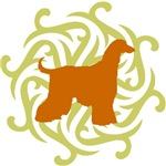 Lime & Rust Afghan Hound