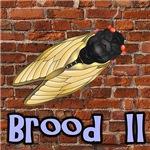 Brood II On A Brick Wall