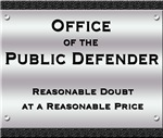 Reasonable Doubt Plaque Bags and Wallets