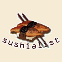Humorous sushi t-shirts