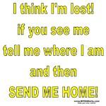 I think I'm Lost