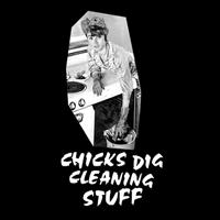 Chicks Dig Cleaning Stuff