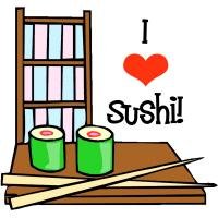 I Love Sushi Japanese T-Shirts Gifts