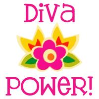 Diva Power Slogan T-Shirts Gifts
