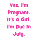 Pregnant w/ Girl due July